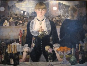 Manet's A Bar at the Folies Bergere