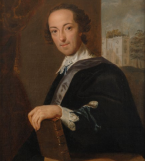 Horace Walpole by John Giles Eccardt, 1754, © National Portrait Gallery, London copy