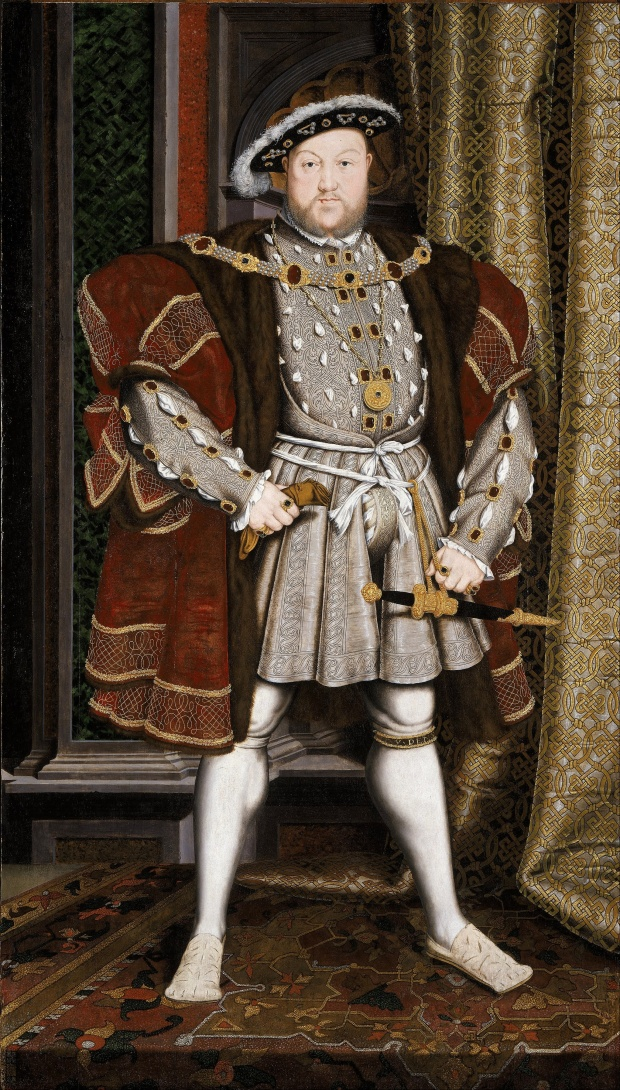 1 - Portrait of Henry VIII by the workshop of Hans Holbein