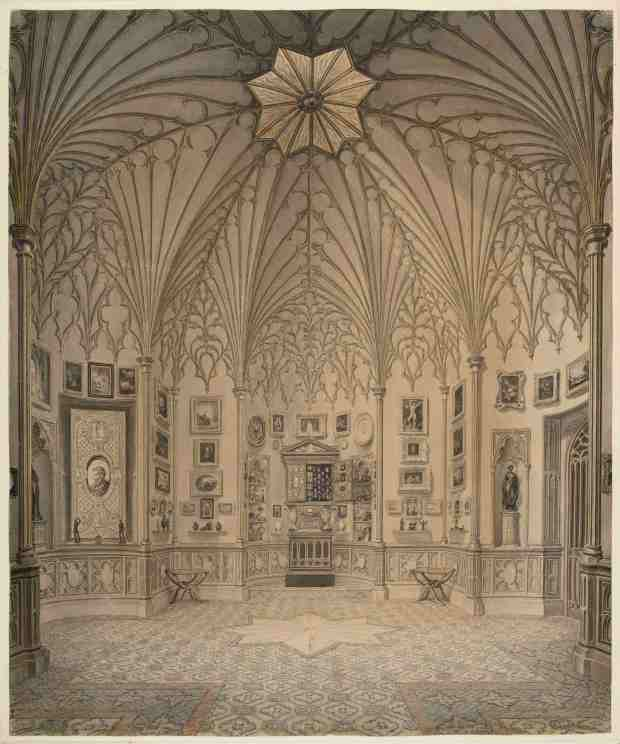 3 - John Carter, The Tribune at Strawberry Hill