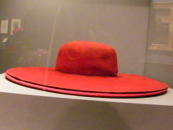 5 - The red hat of Cardinal Wolsey