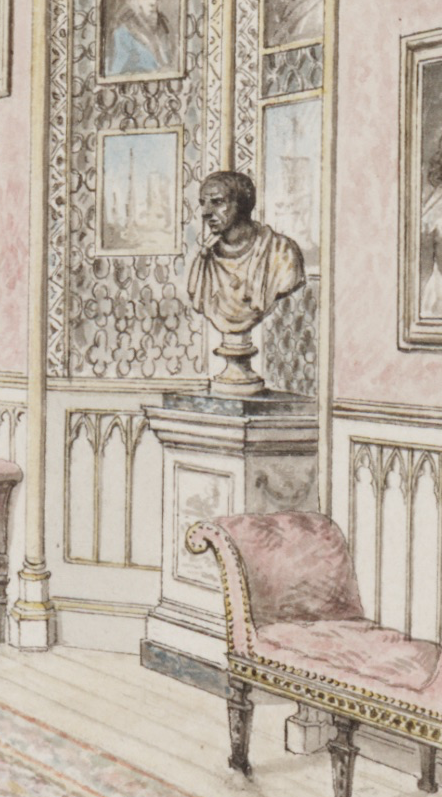 Image 3 - BUST DETAIL IN CARTER'S view of the room