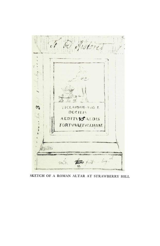Image 4 - sketch altar Vespasian