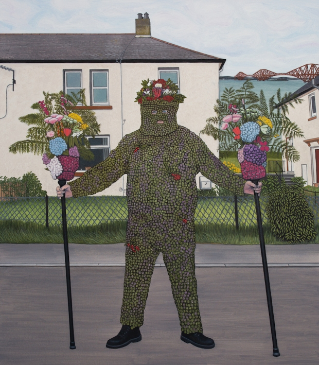2)The Burryman's Parade