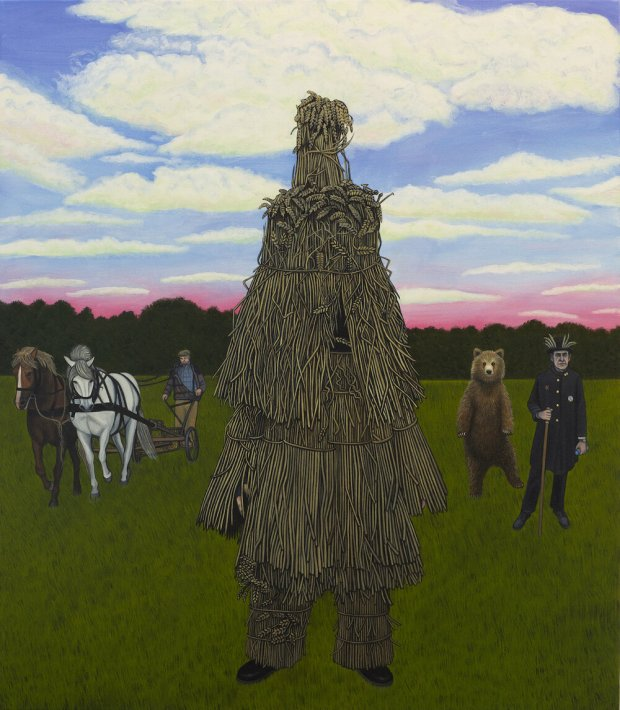 5) The Straw Bear